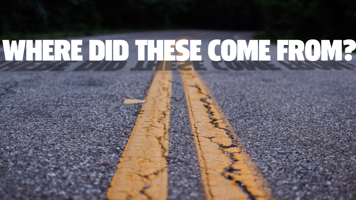 Here's Where Painted Lines On The Road Came From