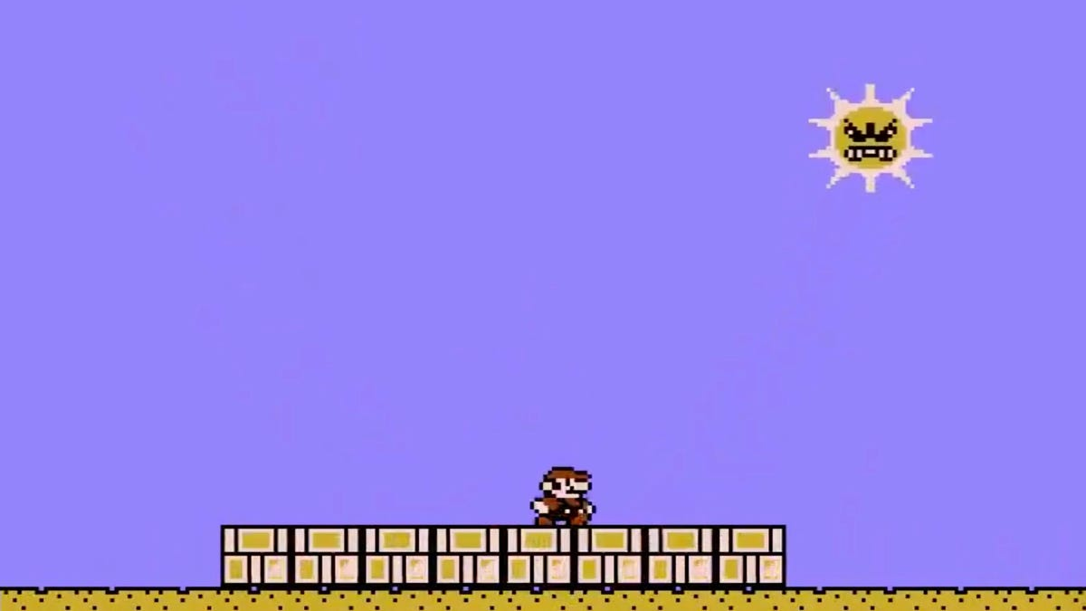 Super Mario Bros. 3's Angry Sun Gave Me Anxiety