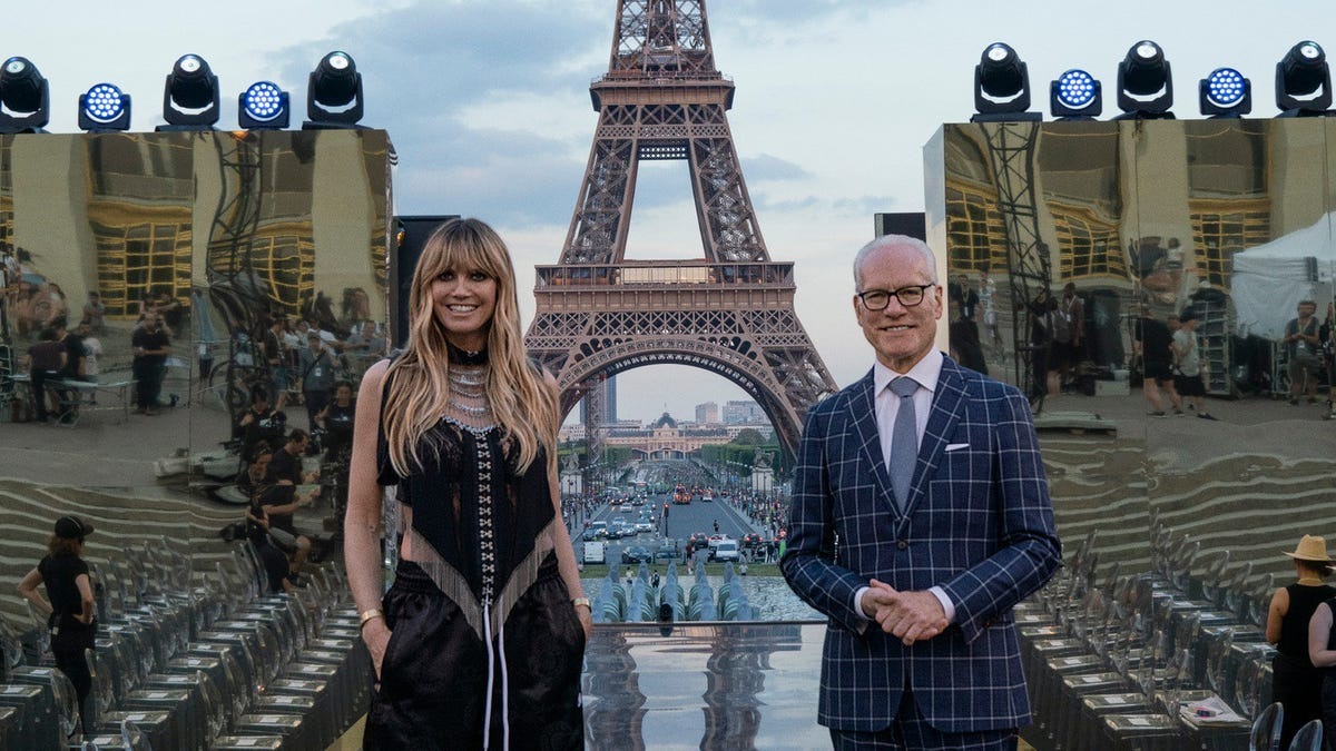 Heidi Gunn and Tim Gunn explain the difference between Making The Cut and that other show