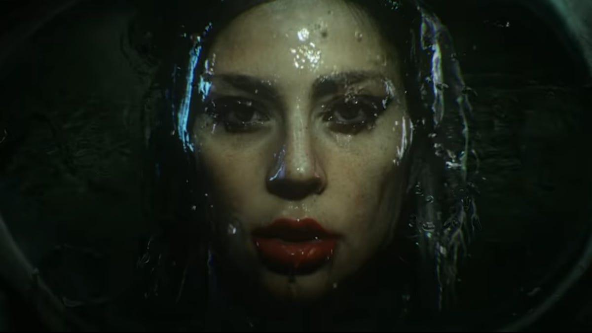 "Lady Gaga & Ariana Grande's ""Rain On Me"" Instagram filter is...unusual"