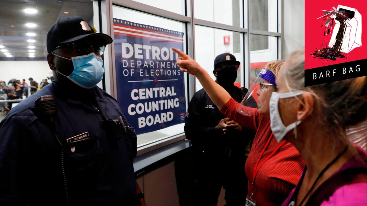 Shocker: Trump's Michigan Voter Fraud Lawsuit Is Full of Complaints About Black People, Uh, Voting