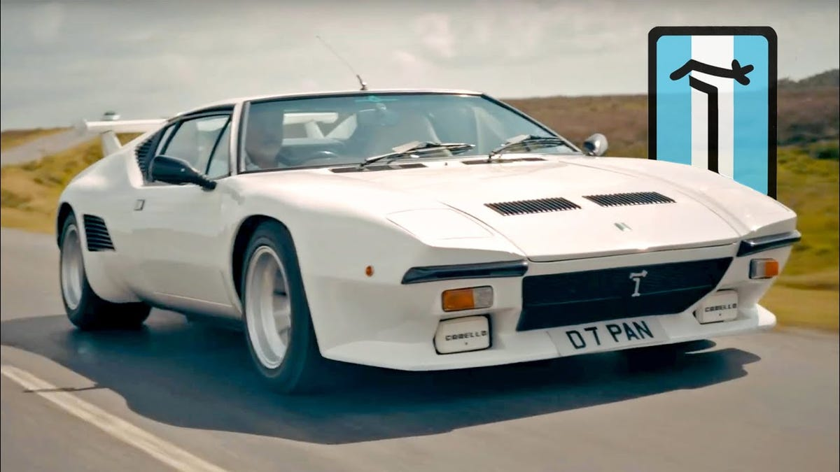 The Glorious De Tomaso Pantera Is Very Hard To Drive