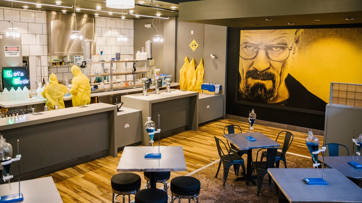 The one who noshes: Breaking Bad gets a pop-up restaurant