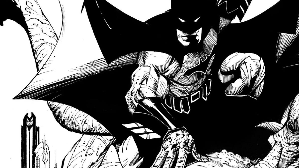 Batman Black And White #1 is good, but not as good as its namesake