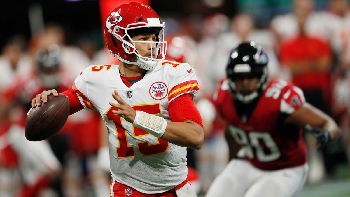 Patrick Mahomes Announced Himself With A Bomb