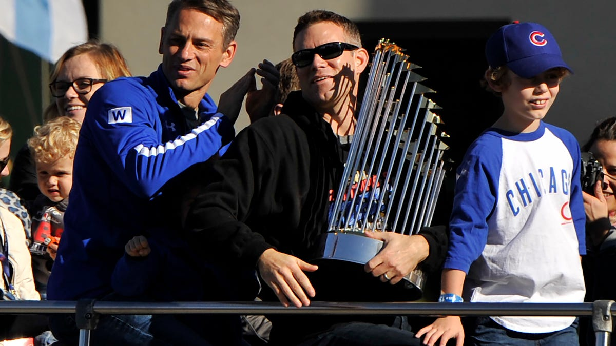 Report: Cubs' World Series Trophy Damaged At Theo Epstein's Charity Concert In Boston
