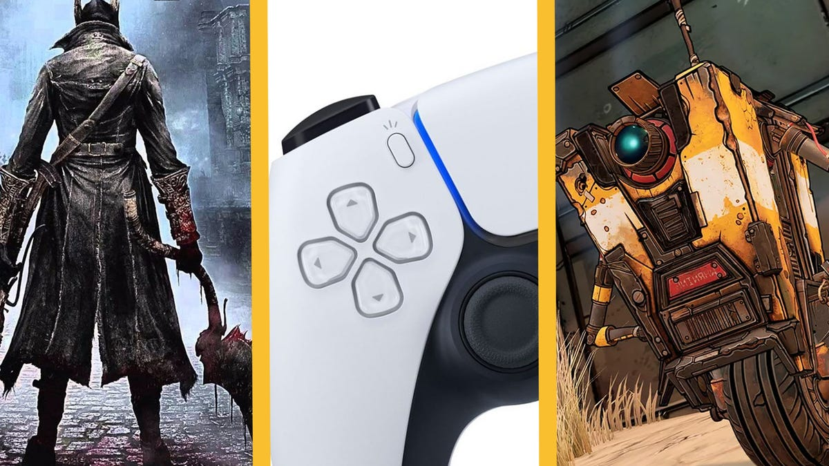 Drifting PS5 Controllers, Video Game Movies Casting Big Names, 60 FPS Bloodborne, And More thumbnail