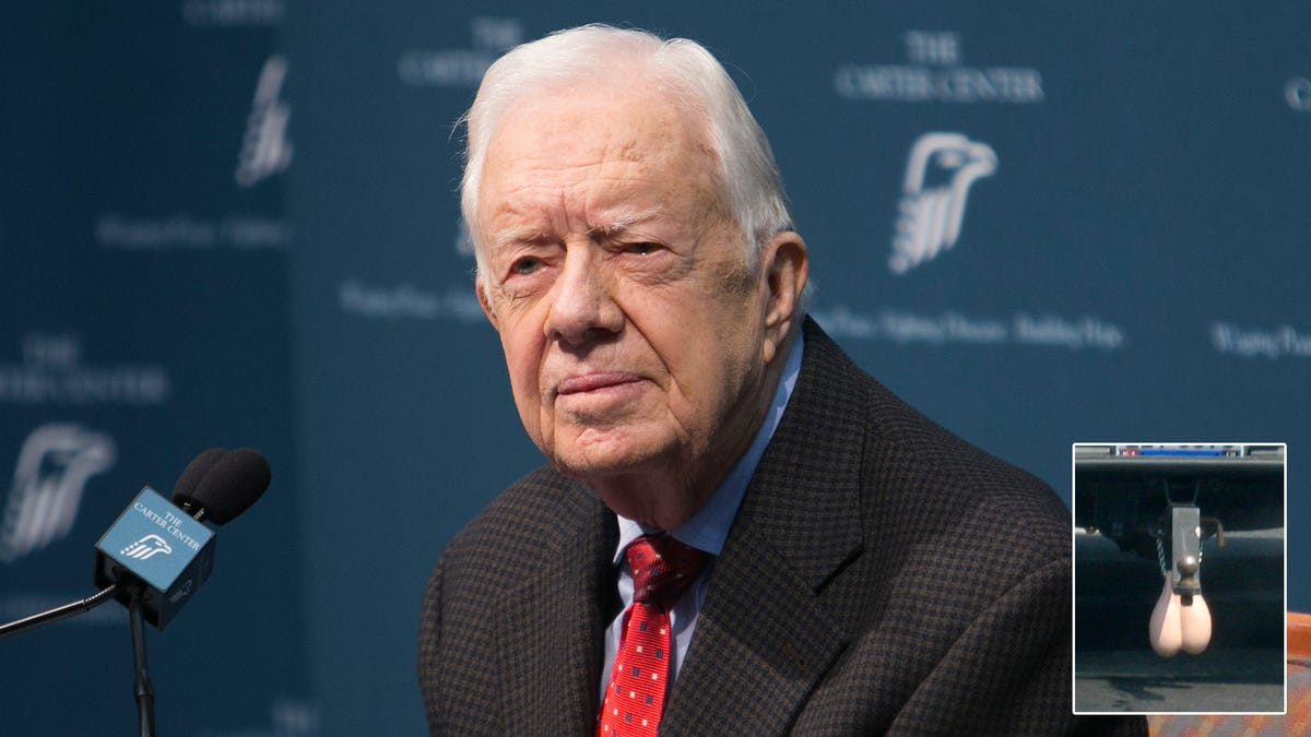 The Lawsuit Of The Century: Jimmy Carter Is Suing The Makers of Truck Nutz For Using His Likeness After Discov
