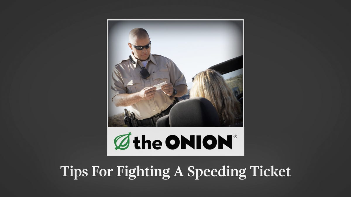 Tips For Fighting A Speeding Ticket