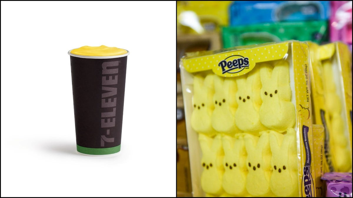 7-Eleven invites you to drink hot Peeps