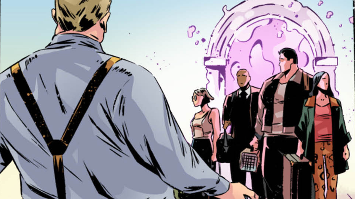 In This Exclusive Look Inside the New Magicians Comics, a New Generation of Brakebills Students Arrives