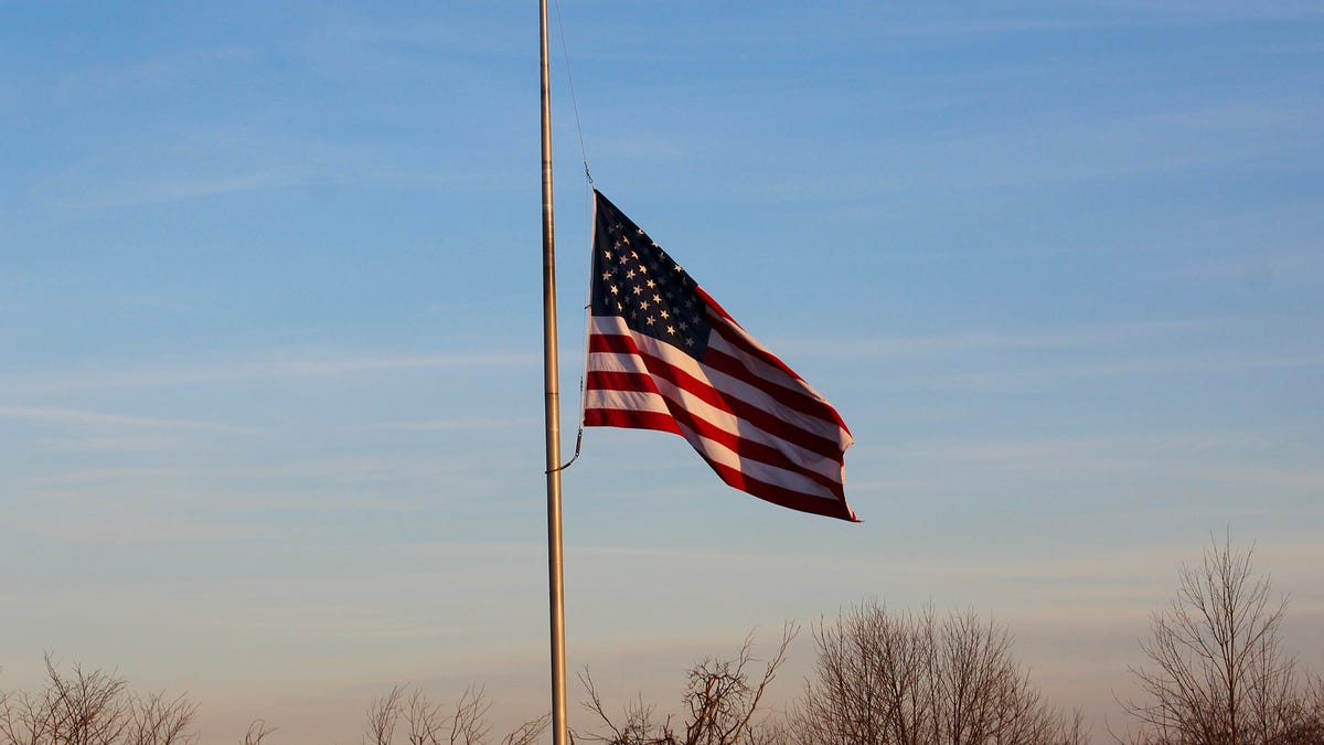 Half-Mast Flag Must Be Caught On Something - the onion