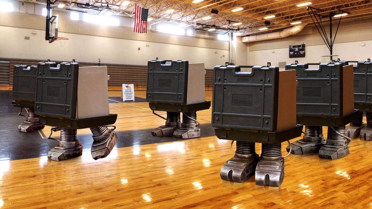 Nevada Addresses Concerns About Election Security By Switching To Electronic Voters