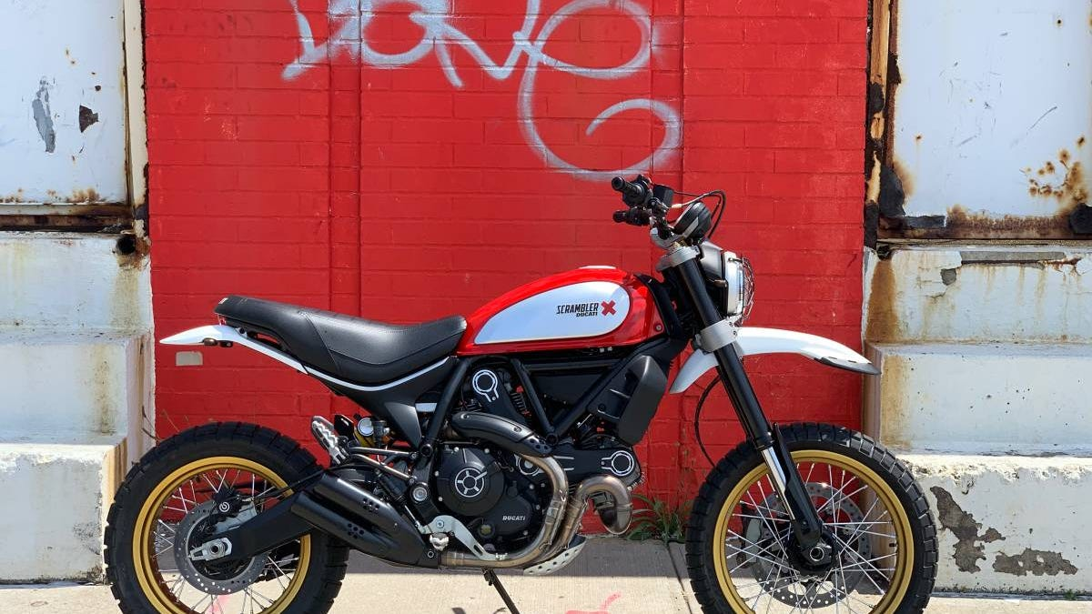 "At $8,500, Could You Get ""Sleighed"" By This 2017 Ducati Desert Sled?"