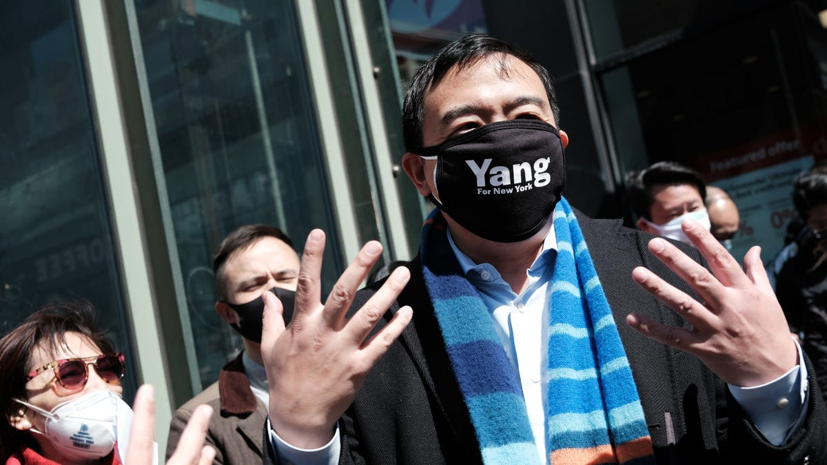 Andrew Yang Wants You to Know He Can Name Two Gay People and One Gay Bar