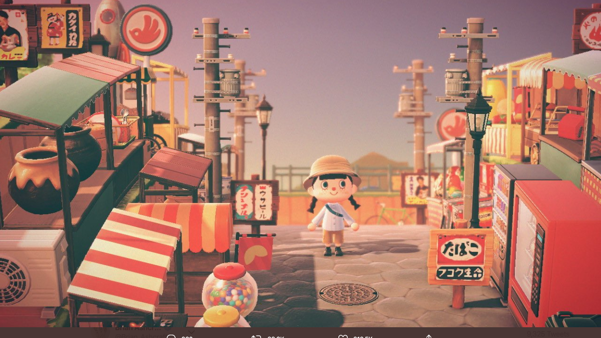 Retro Japan Recreated In Animal Crossing New Horizons