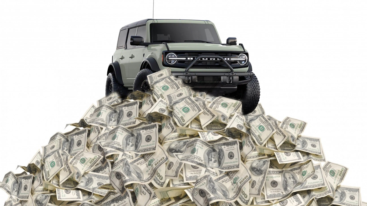 2021 Ford Bronco Costs $29,995 To $63,100. Here's A Full Price Breakdown