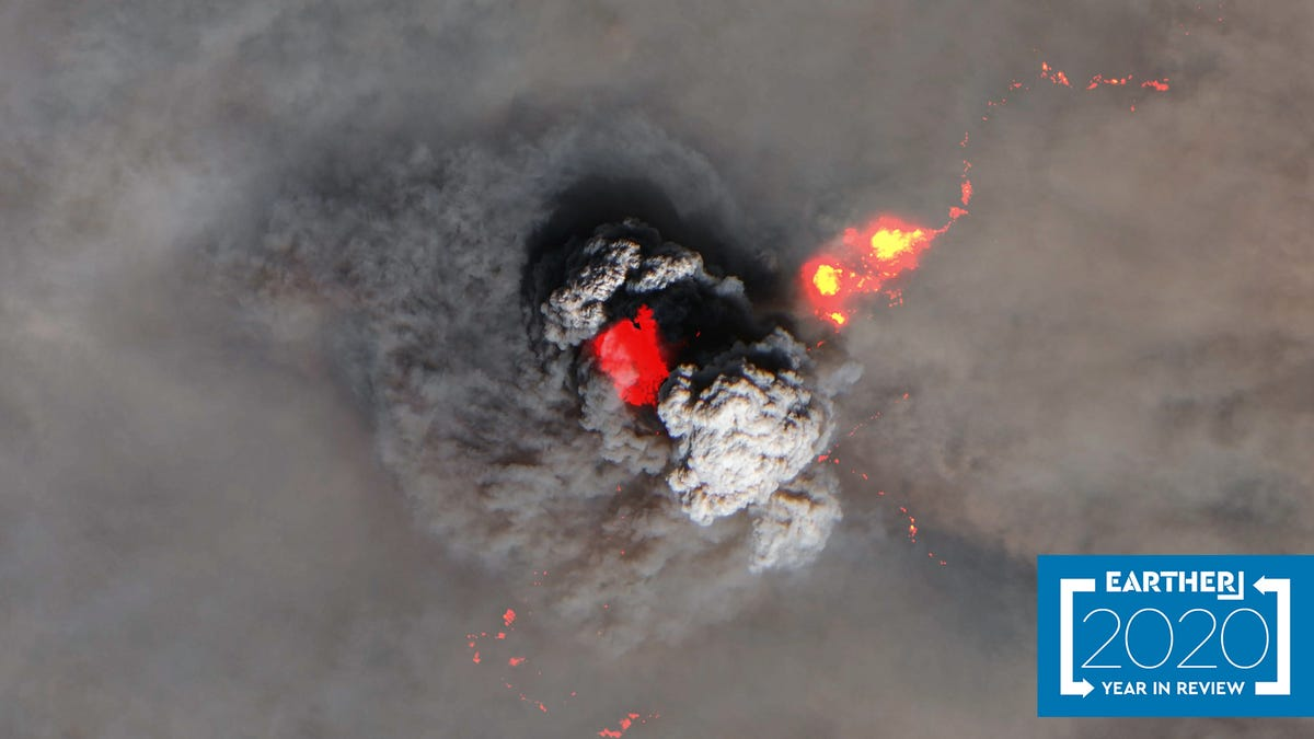 Earth Looked Like Hell From Space This Year