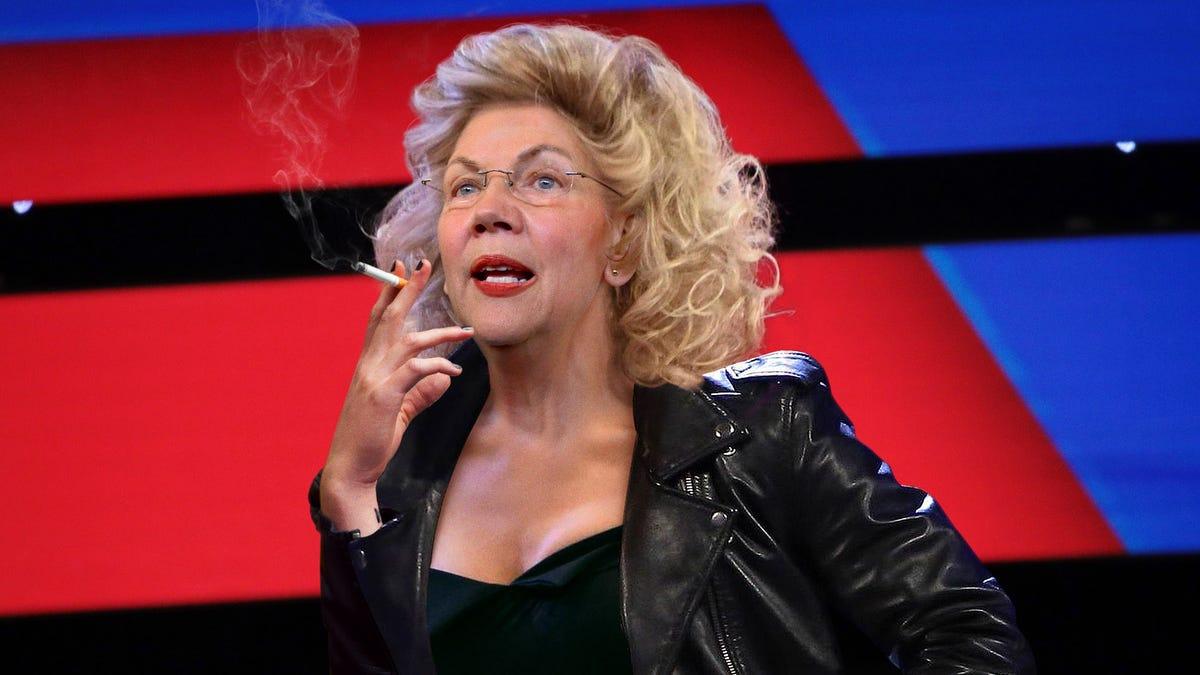 'Katakan Padaku Tentang Hal Itu, Stud,' Kata Pleather-Berpakaian Elizabeth Warren Pada Debat Tahap Dalam Usaha Untuk Pengadilan Bad Boy Demografi