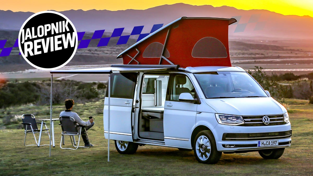 The 2018 Vw T6 California Van Is The Best Car That S Also A House