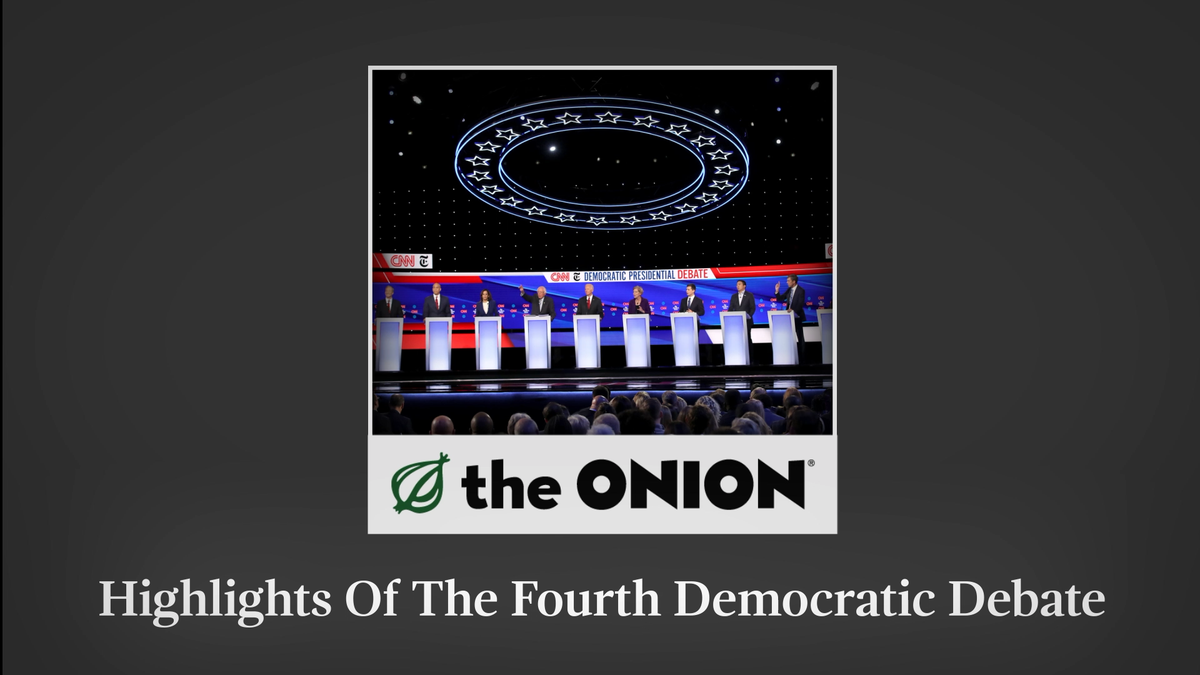 Highlights Of The Fourth Democratic Debate