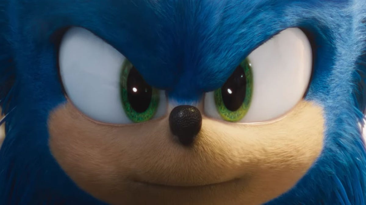 New Sonic The Hedgehog Movie Trailer Shows His Redesigned Face