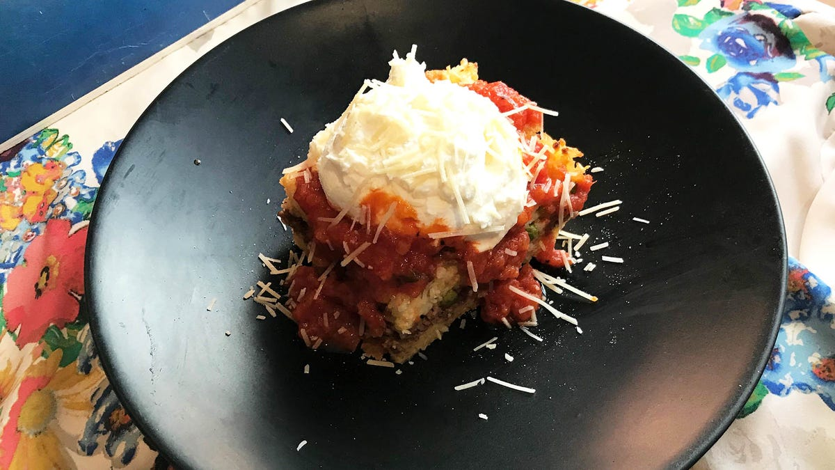 Rice ball casserole lets you mangia bene on a weekday