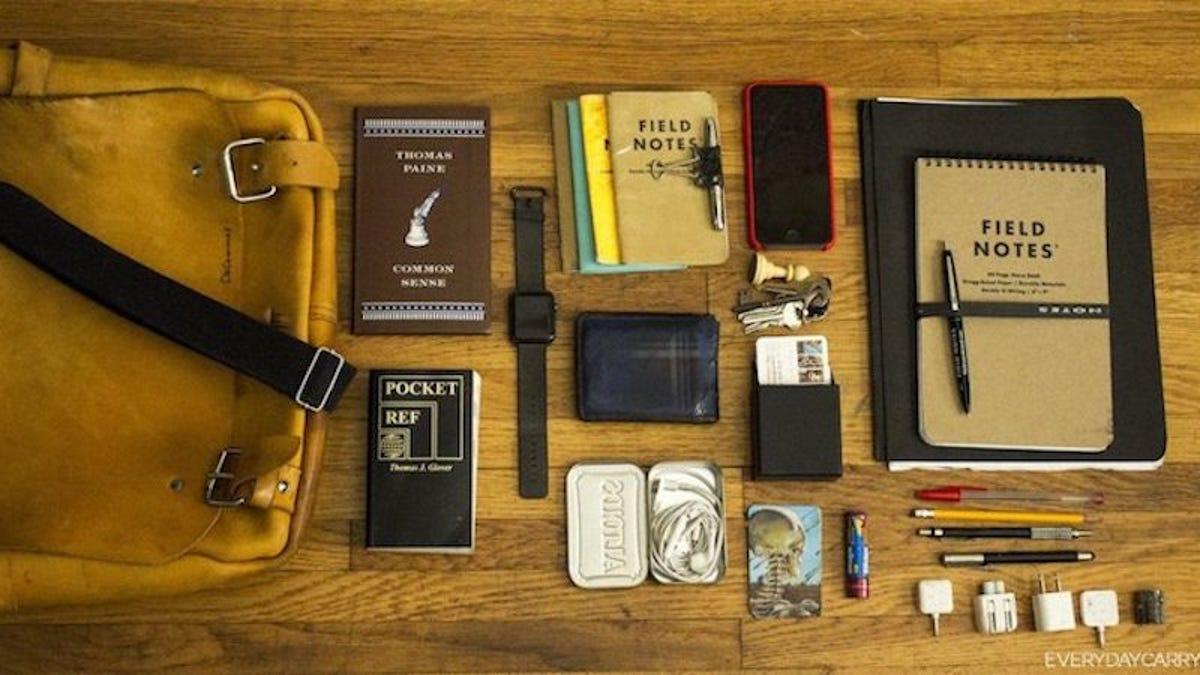 The Notebook-Packed Shoulder Bag