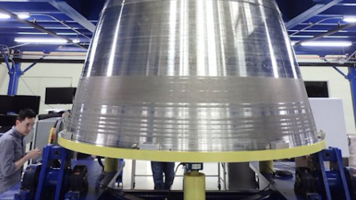 Blue Origin Just Teased a Photo of Its Big Ass Rocket's Engine