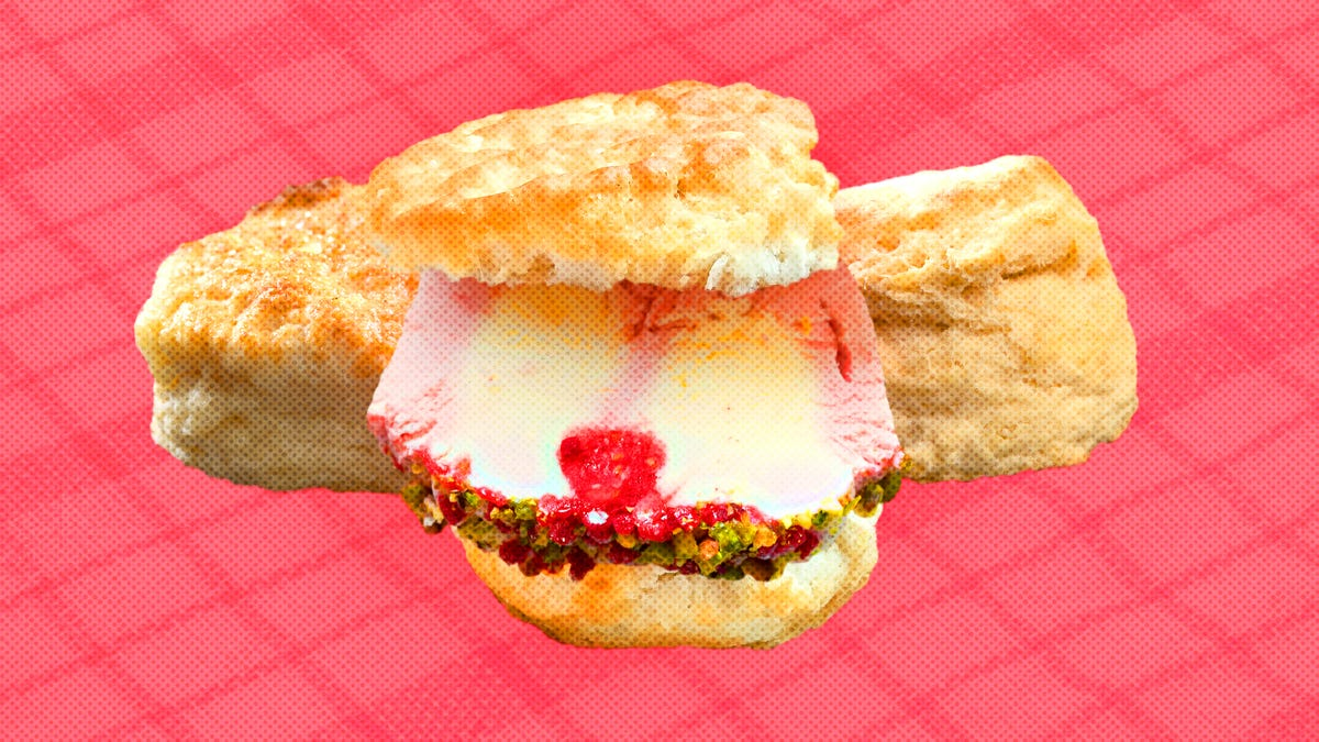 These ice cream sandwiches contain neither ice cream nor cookies, and they're the best you'll ever make
