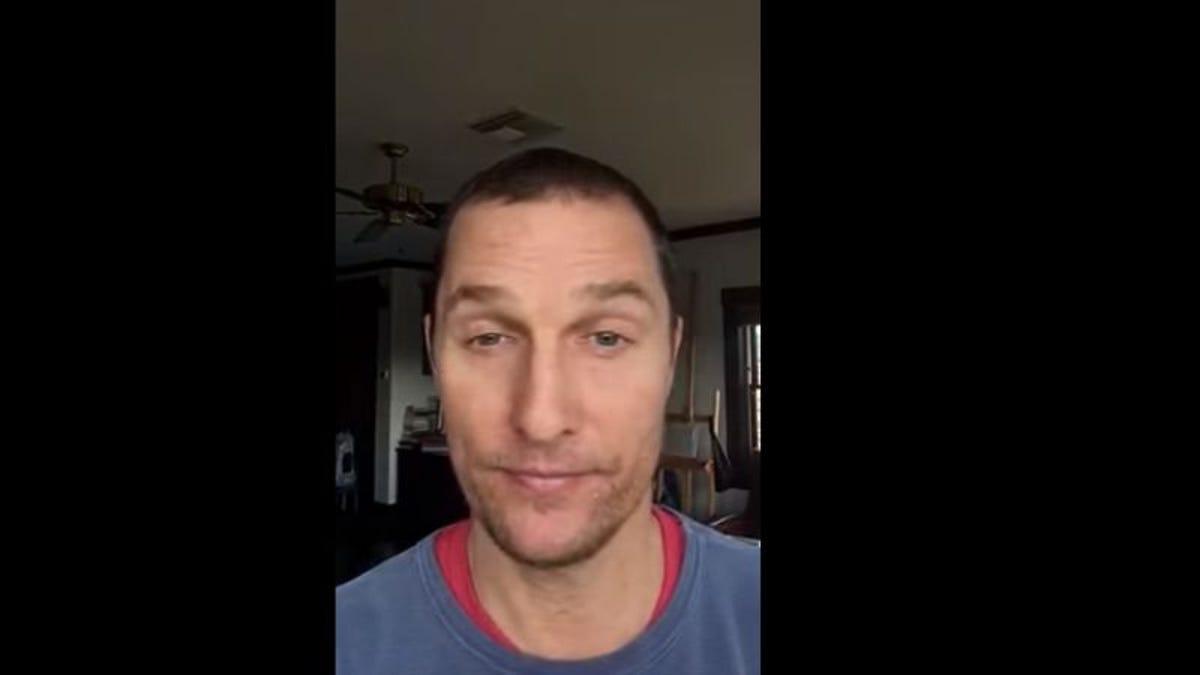 "Internet detectives stumble across Matthew McConaughey's ""secret"" YouTube account"