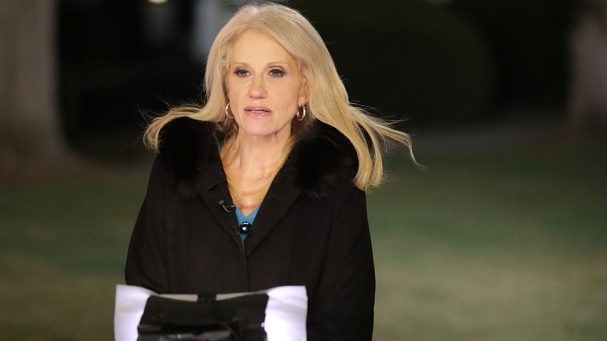 White House Adviser Kellyanne Conway May Have Been Balling on Taxpayer Coins: Report
