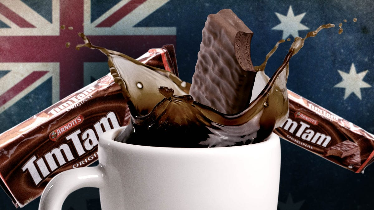 Forget Oreos in milk—it's time for the Tim Tam Slam