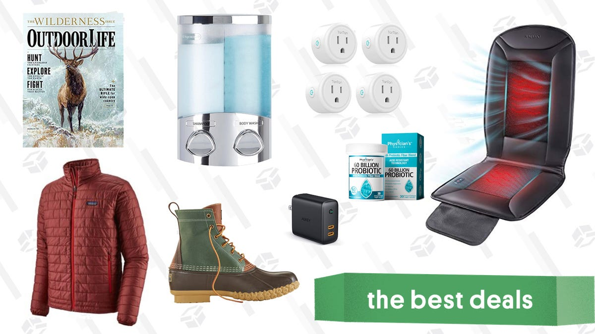 Saturday's Best Deals: L.L. Bean Boots, Car Seat Warmers, Backcountry Fleece, and More