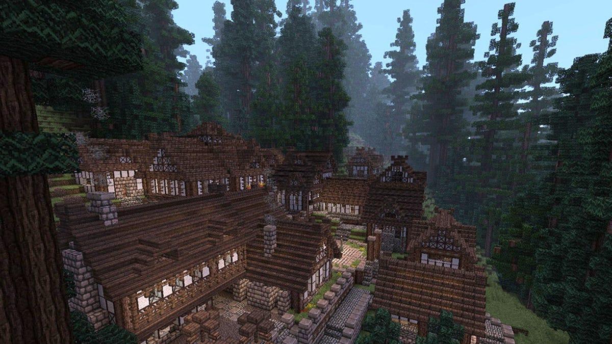 El mundo de juego más grande de Minecraft ocupa 5.200 km²