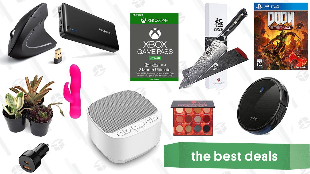 Monday's Best Deals: Ella Paradis Vibrator Giveaway, Game Pass BOGO, Eufy RoboVacs, 20% Off Ulta Products, and More