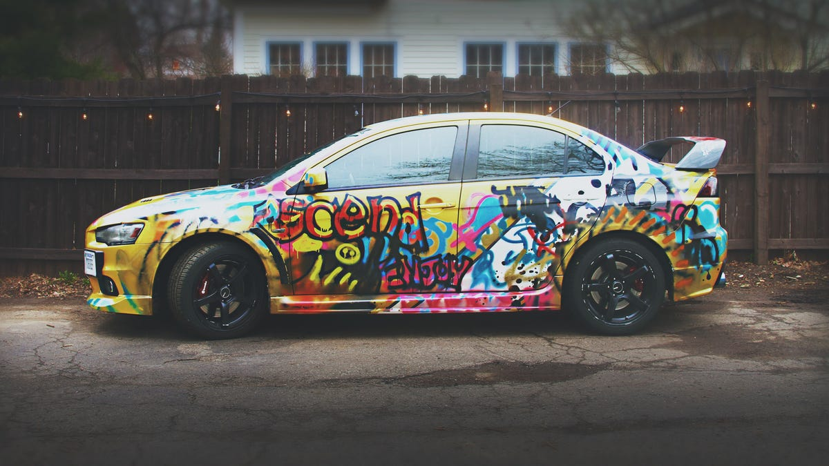 Remove Spray Paint From Car >> Why You Should Give Your Car A Shitty Paint Job