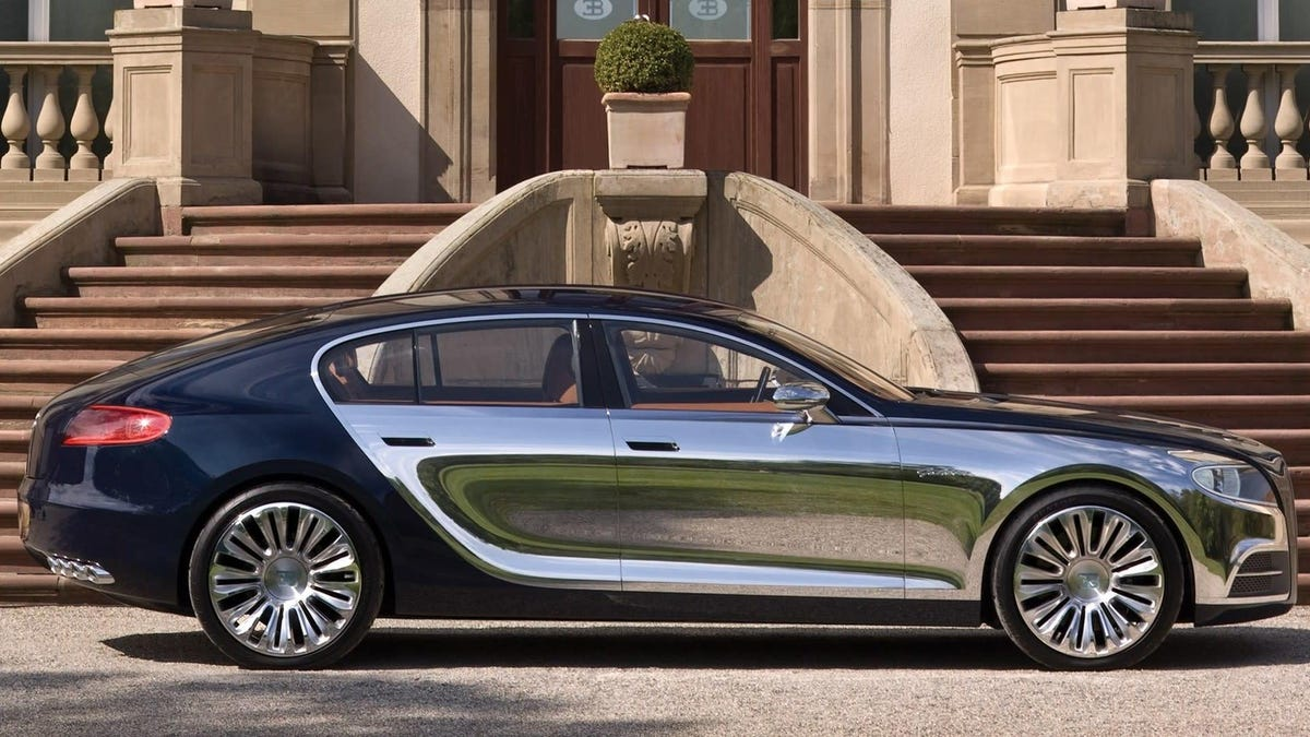 Bugatti And Volkswagen In Talks To Build An Electric Four-Seater