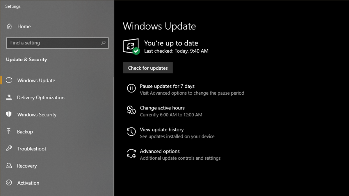 How to Install the Windows 10 May 2020 Update if It's Missing - Lifehacker