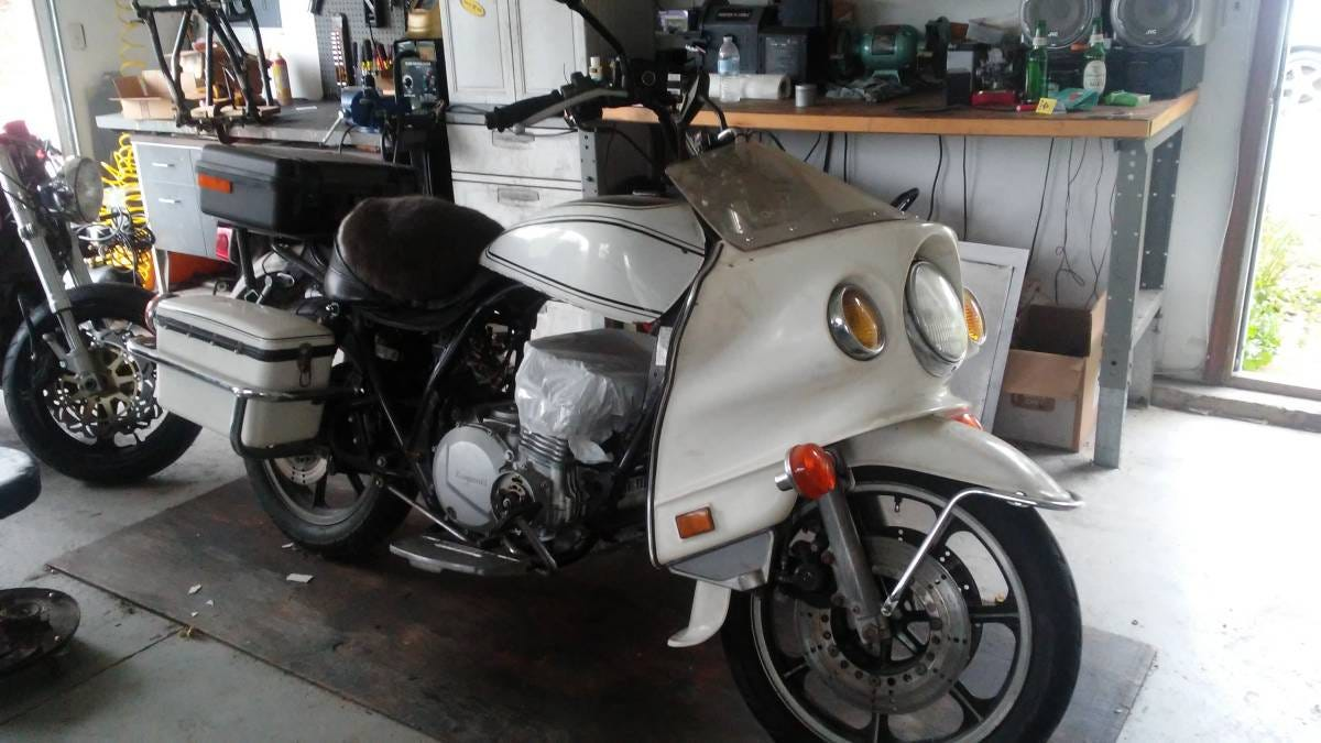 Is 900 Too Much To Chip In For This Wounded 1982 Kawasaki