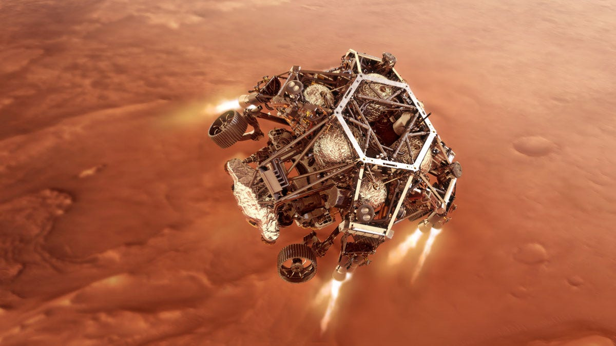 NASA Is Dropping a New Rover on Mars. Here's What Could Go Wrong