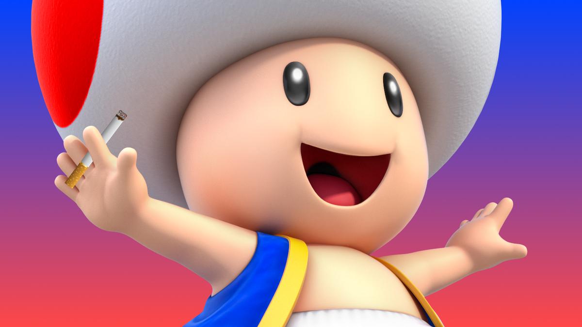 Smoking Toad, F-Zero Beavis, And Other Weird Nintendo Gigaleak Finds - Kotaku