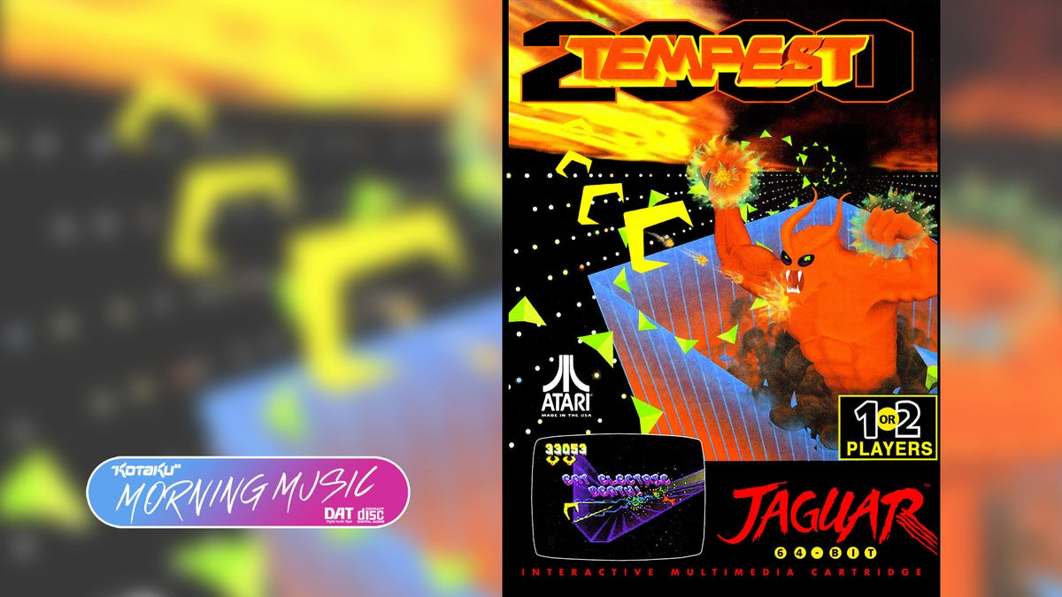 Tempest 2000 Was The Rare Jag Game Worth Crankin' The Volume For