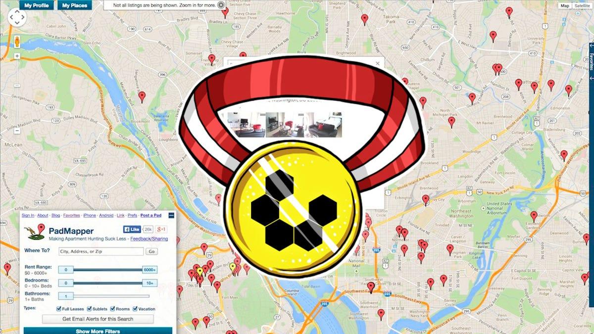 Most Popular Apartment Search Tool: Padmapper/Craigslist