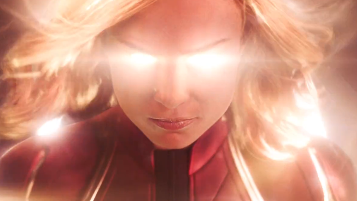 Captain Marvel's Triumphant First Trailer Shoots for the Stars