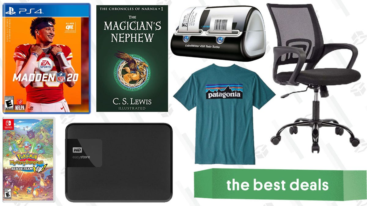 Sunday's Best Deals: Kindle Credit, $52 Office Chair, B2G1 Video Games, and More