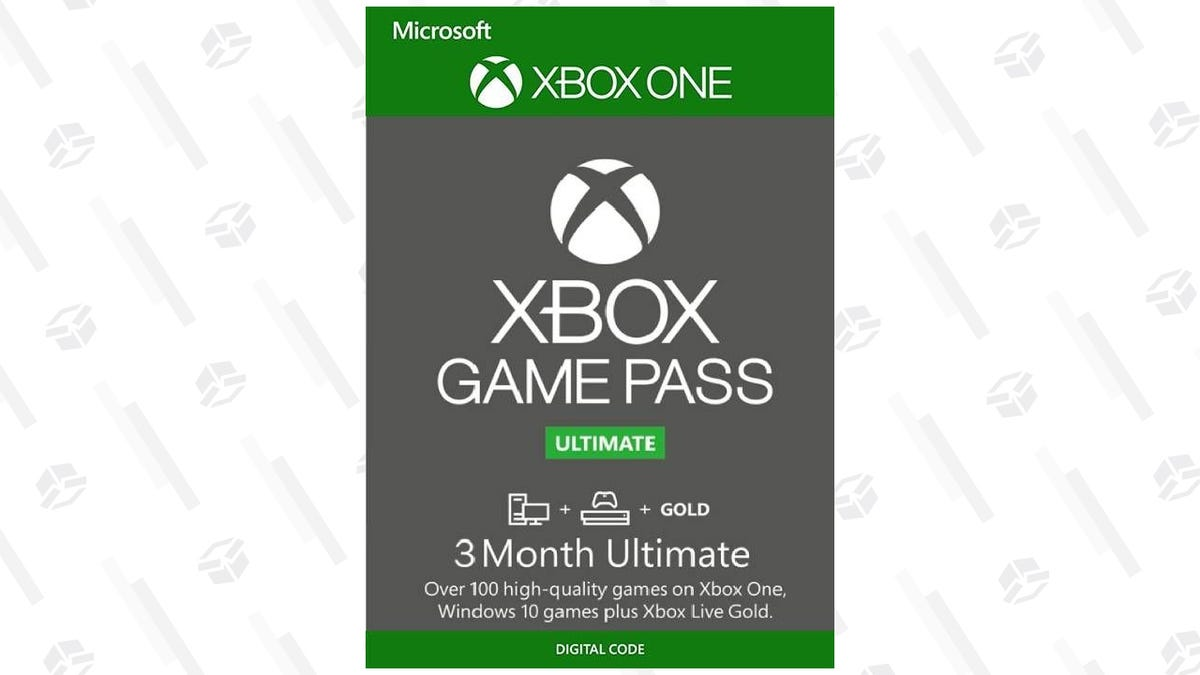 Xbox Game Pass Ultimate Gives You Hundreds of Games and Xbox Live Gold, Get Three Months for $25