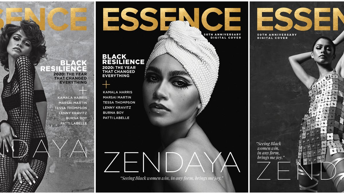 Covergirl Zendaya Pays a Stunning Tribute to Modeling Legend Donyale Luna
