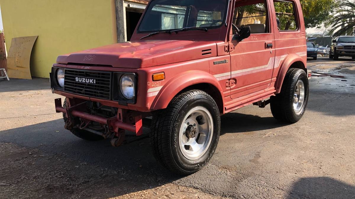 At $2,900, Does This 440-Powered 1986 Suzuki Samurai Have Potential?