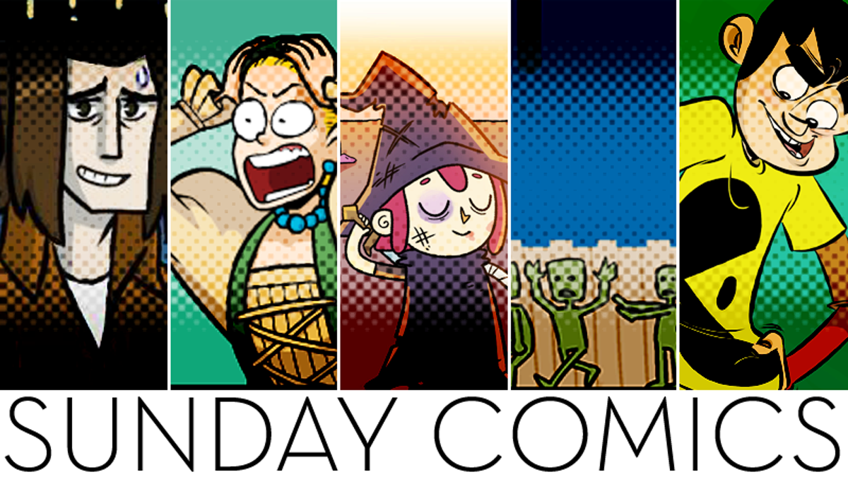 Sunday Comics: Almost Done